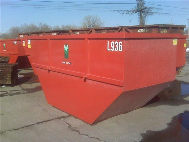 Lugger bins for scrap metal recycling