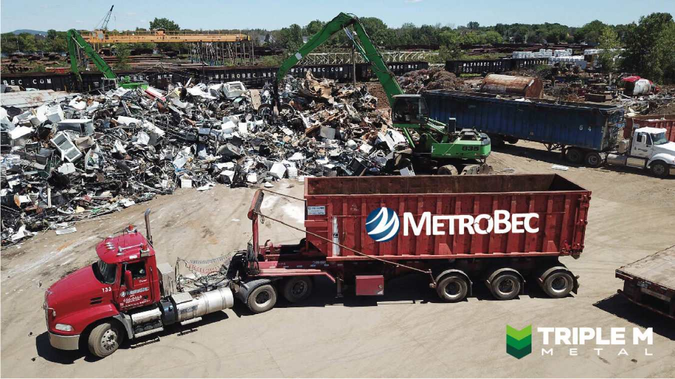 Triple M announces recent acquisition of MetroBec, a Quebec-based scrap metals processor. Read the article below to learn more!